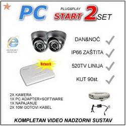 VIDEO NADZOR - PC2START KOMPLET