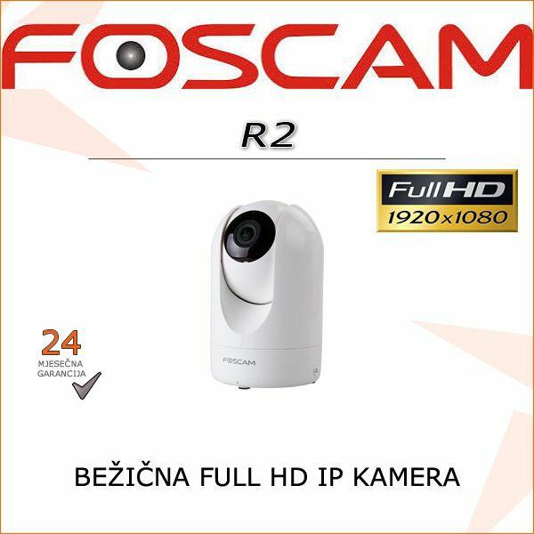 R2- FULL HD BEŽIČNA 1080P IR ROTACIJSKA KAMERA FOSCAM