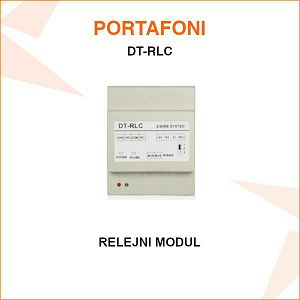RELEJNI MODUL ZA PORTAFON DT-RLC