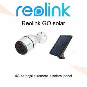 REOLINK 4G NADZORNA KAMERA + SOLARNI PANEL