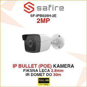 SAFIRE 2MP IP BULLET POE KAMERA SF-IPB025H-2E