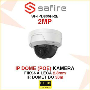 SAFIRE 2MP IP DOME POE KAMERA SF-IPD835H-2E
