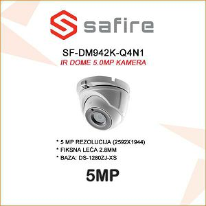 SAFIRE 5MP DOME SA LEĆOM 2.8MM