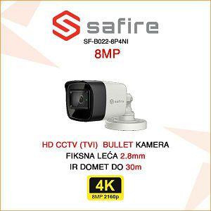 SAFIRE 8MP BULLET KAMERA ULTRA HD