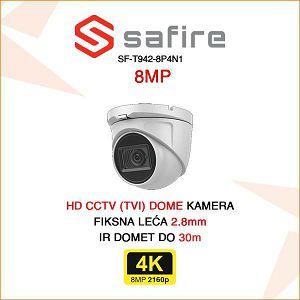 SAFIRE 8MP DOME KAMERA ULTRA HD