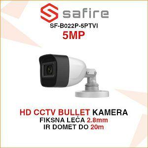 SAFIRE 5MP BULLET KAMERA SF-B022P-5PTVI