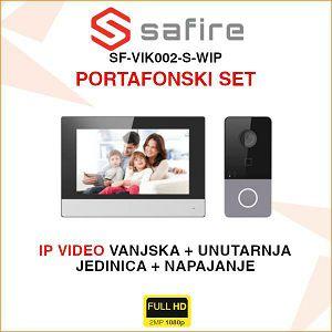 SAFIRE IP PORTAFONSKI KOMPLET SF-VIK002-S-WIP