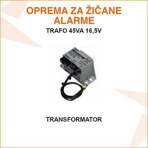 TRANSFORMATOR 45VA 16,5V AC