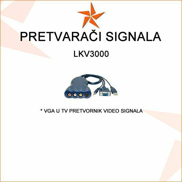 VGA U TV (KOMPOZITNI) PRETVORNIK - LKV3000