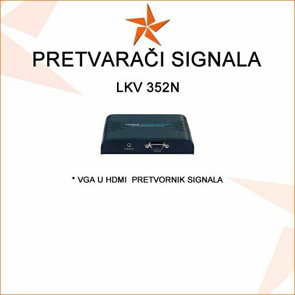 VGA U HDMI  PRETVORNIK - LKV 352N