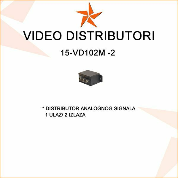 VIDEO DISTRIBUTOR 1 VIDEO ULAZ /2 IZLAZA