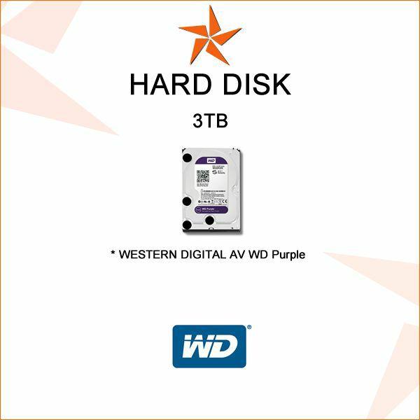 WD PURPLE HARD DISK ZA VIDEONADZOR 3 TB