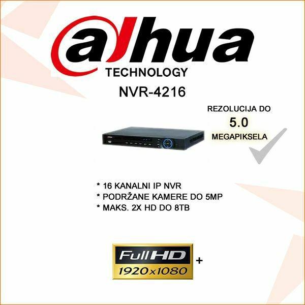 DAHUA 16  KANALNI NVR 1080P