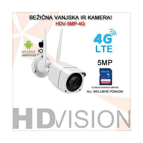 4G LTE IP KAMERA 5MP