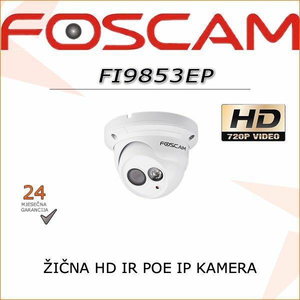 FI9853EP-FOSCAM IP POE ŽIČNA KAMERA