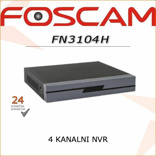 FN3104H- 4 KANALNI FOSCAM NVR