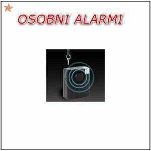 OSOBNI ALARM SA SIRENOM/SIGNALNOM LAMPOM