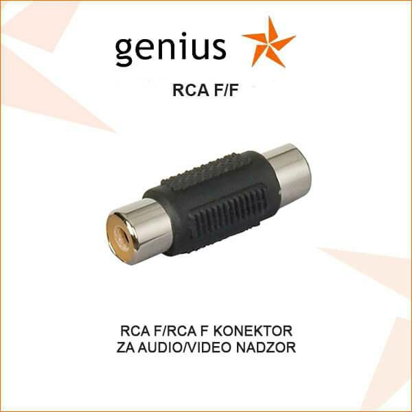 RCA F/F KONKETOR ZA VIDEO/AUDIO NADZOR