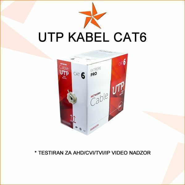 UTP KAT6 KABEL ZA VIDEO NADZOR